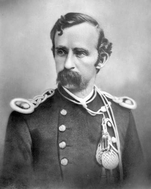Lt. Col. George Armstrong Custer, 1875