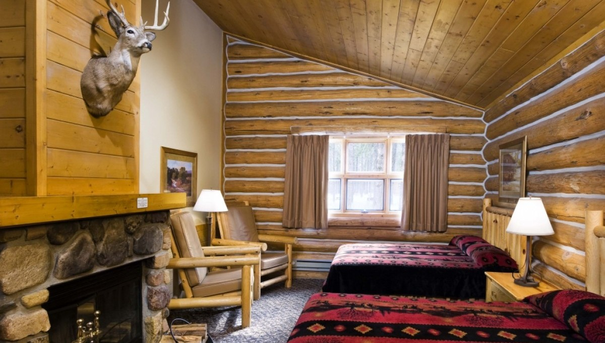Interior of a Blue Bell Cabin
