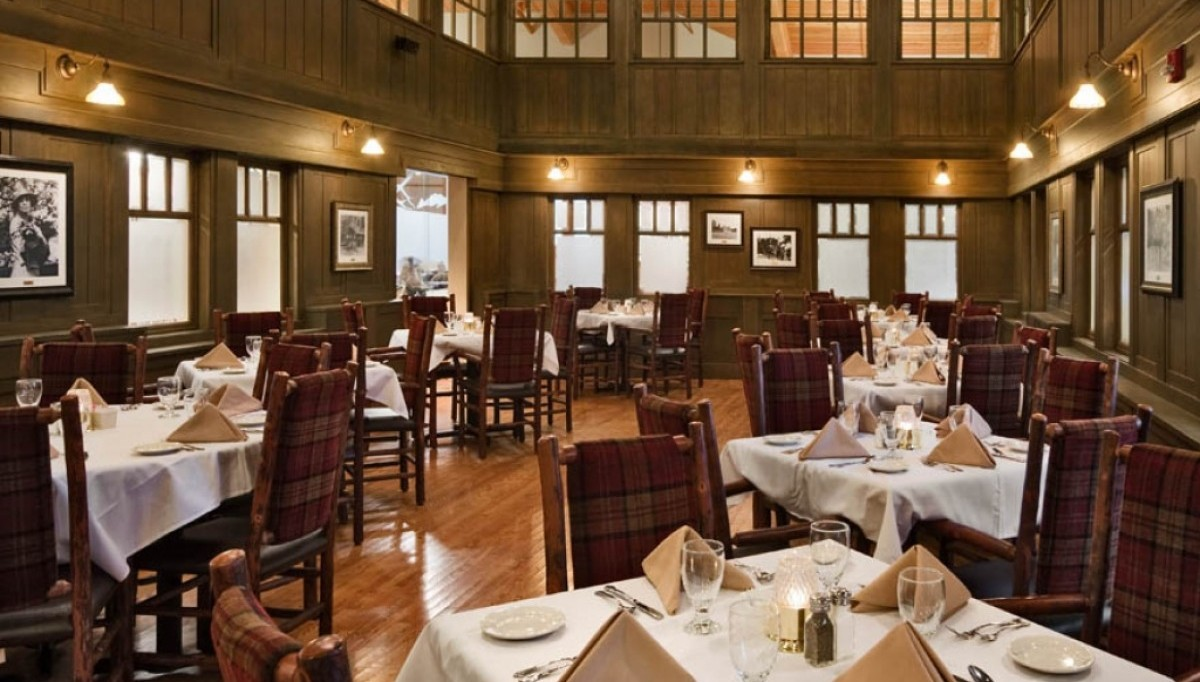 Historic White House Dining Room in the Game Lodge