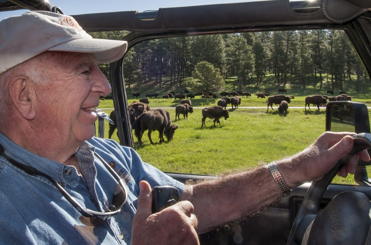 Guided tours through wild buffalo herds.