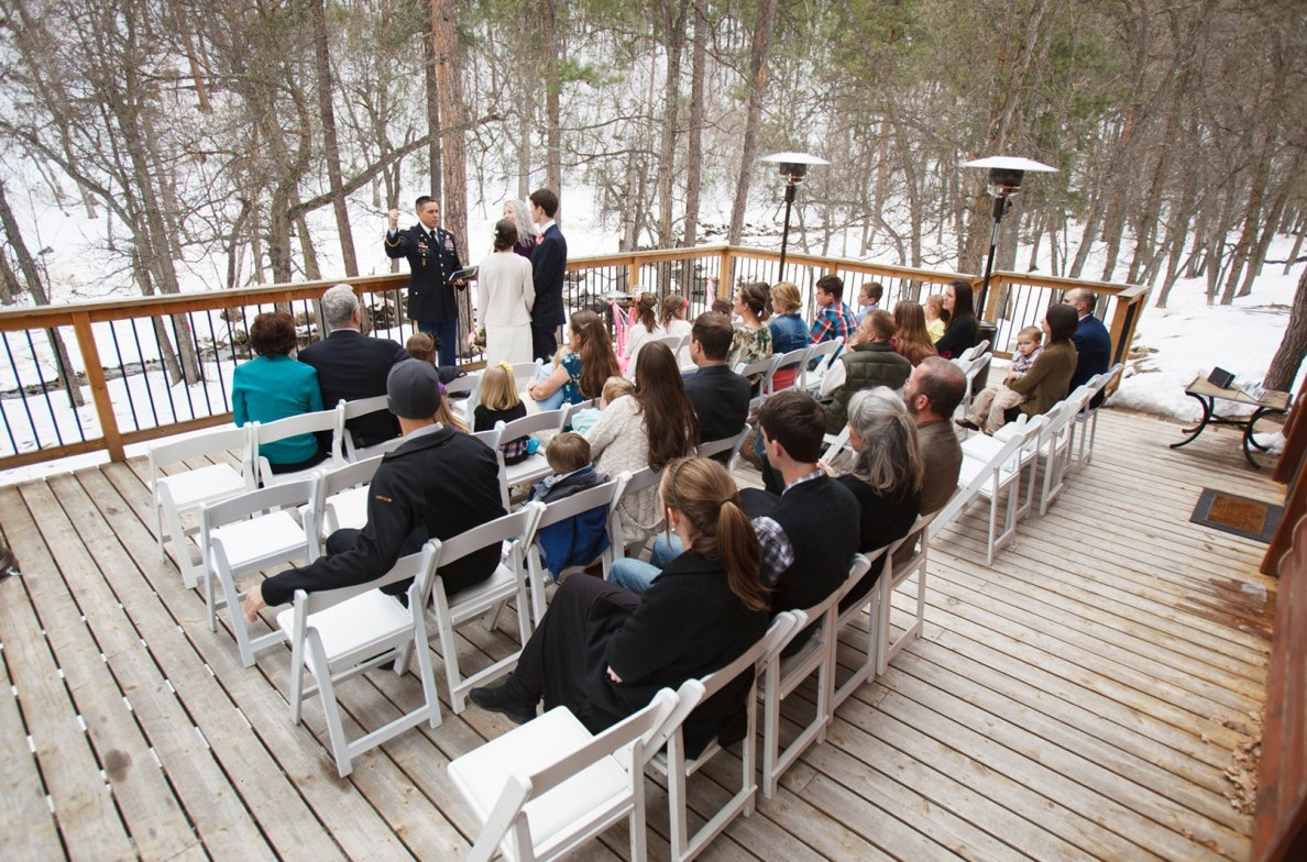 Reunion Cabin Ceremony.