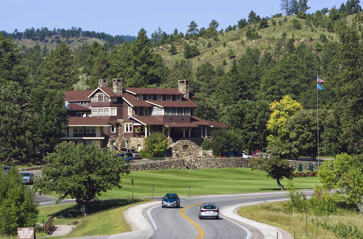 The State Game Lodge in the Valley