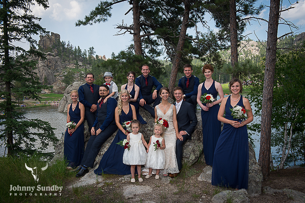 Custer Wedding Party