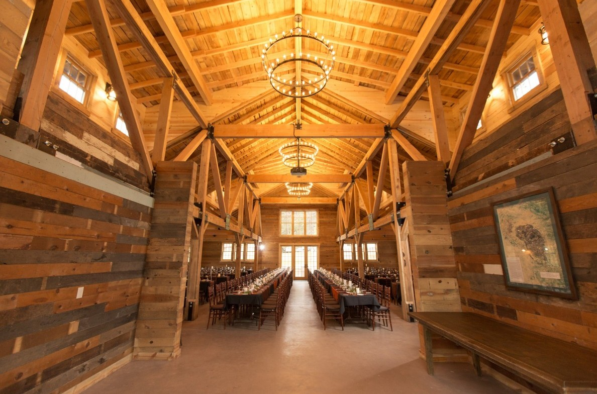 Event Barn Interior