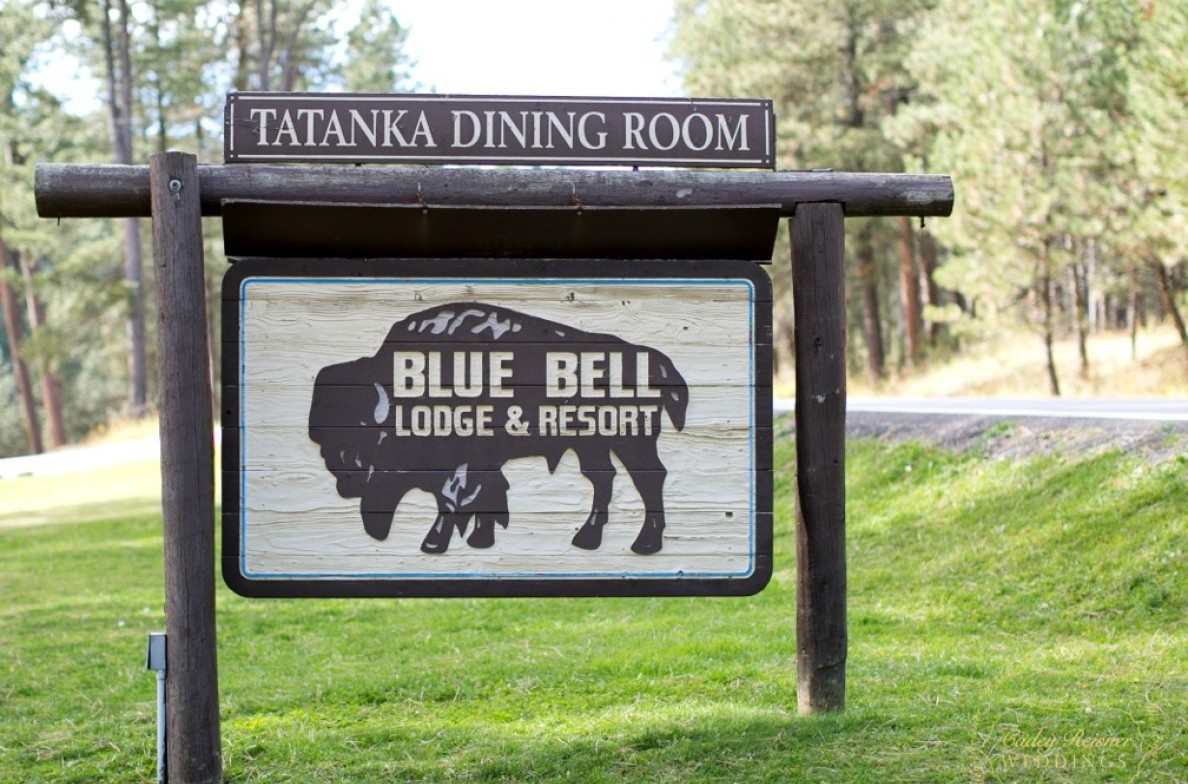 The White Buffalo Room signage.