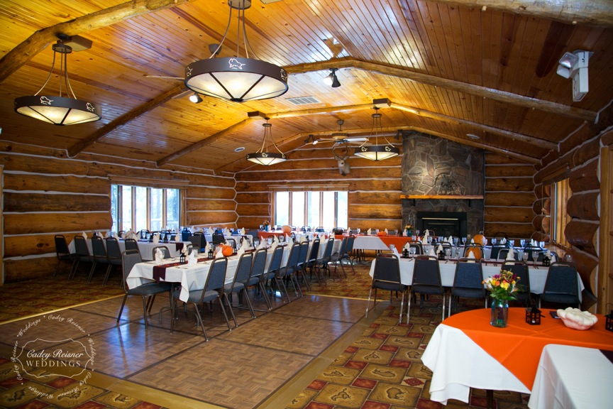 Hold your reception in the White Buffalo Room.