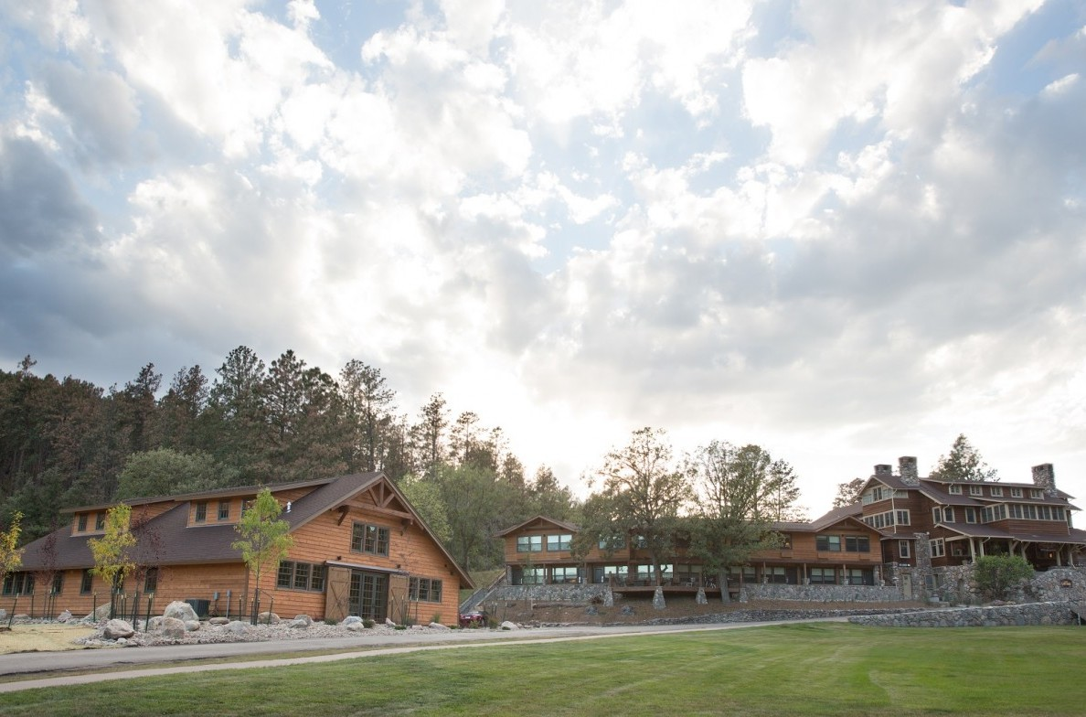 The State Game Lodge & Event Barn.